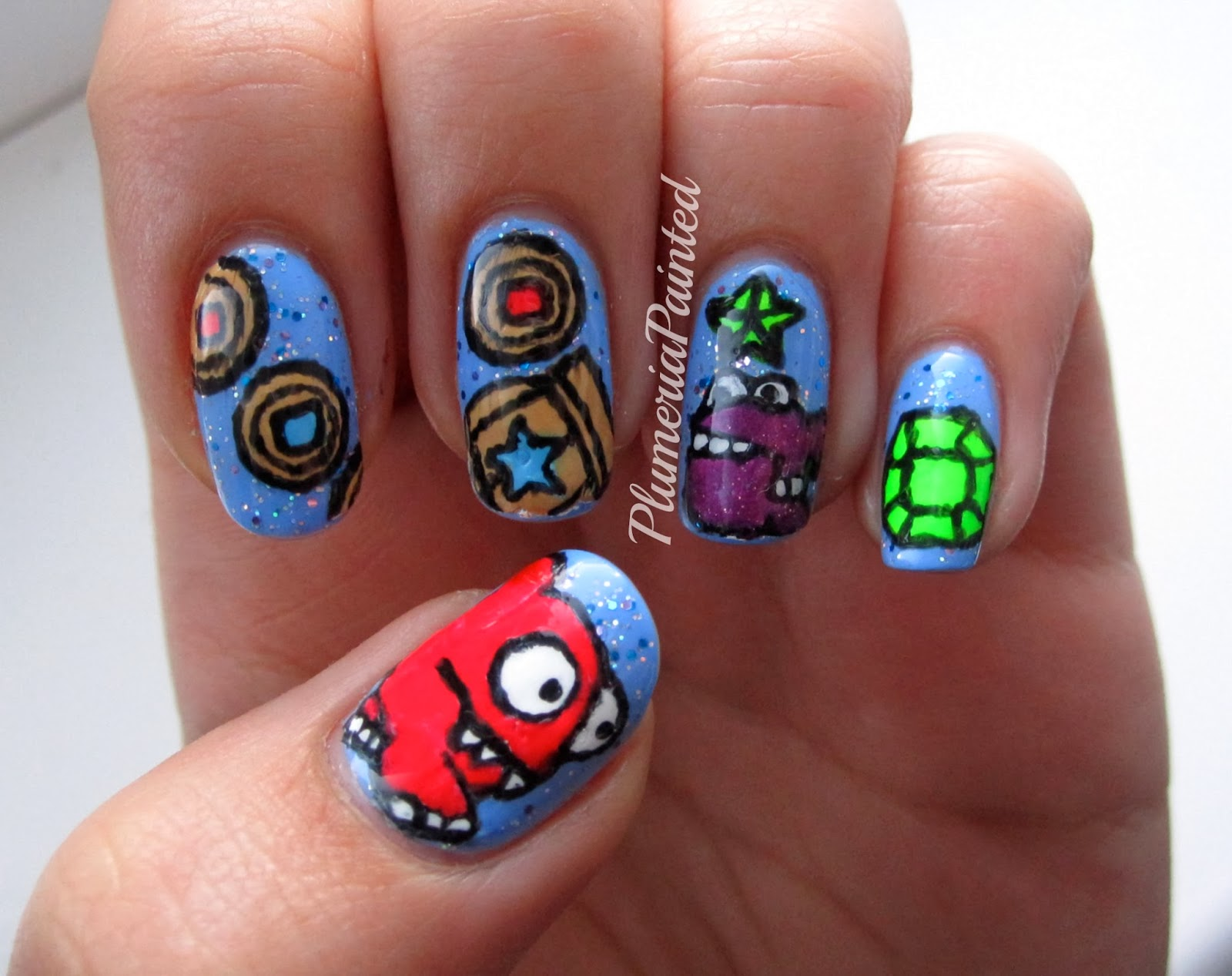 Nail Designs For Runners The World S Catalog Of Ideas Plumeriapainted