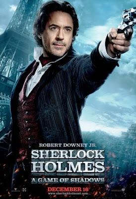 Sherlock Holmes 2 Juego de sombras (2012). poster movie pelicula