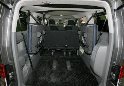 Nissan NV200 Boot