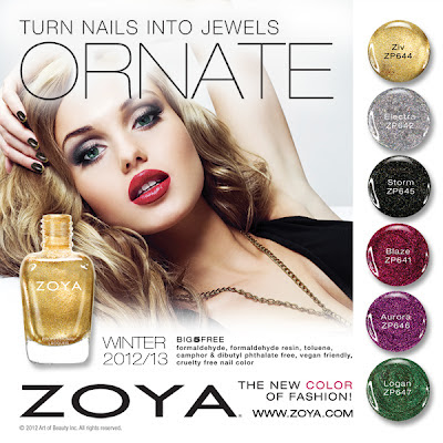 Zoya Ornate Holiday 2012