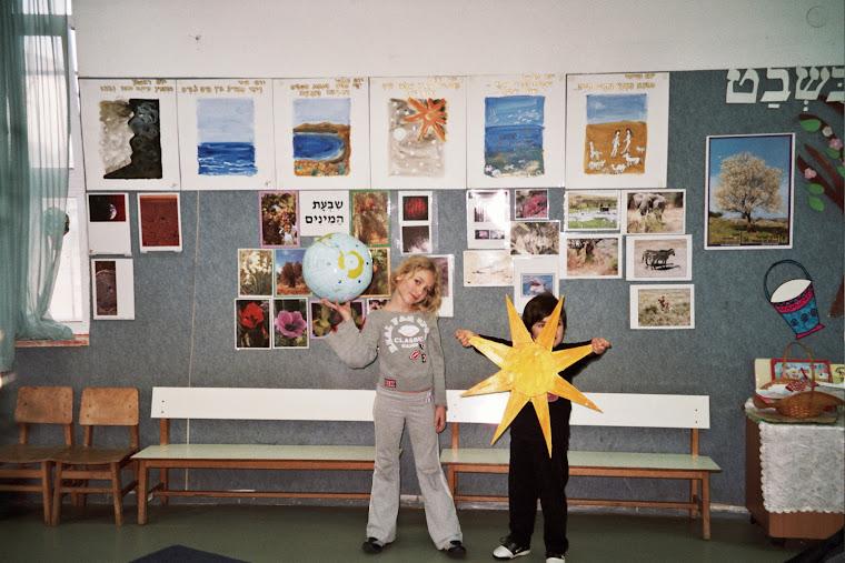 בריאת העולם בחטיבה הצעירה תל נורדאו