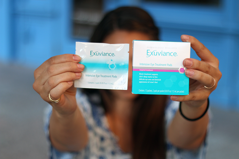 Exuviance Intensive Eye Treatment Pad Review