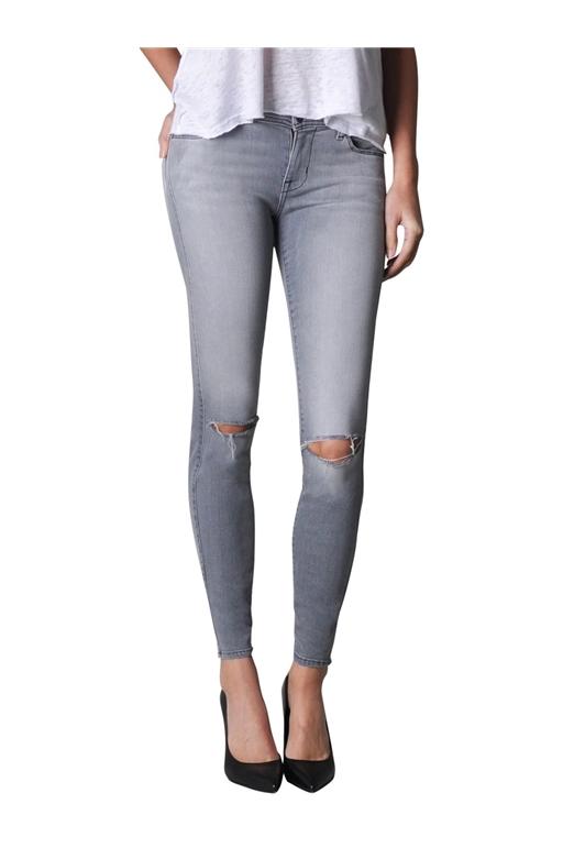 Belvedere Crop skinny jeans in Zen Rocket