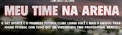 "Concurso Cultural "" Meu Time na Arena"""