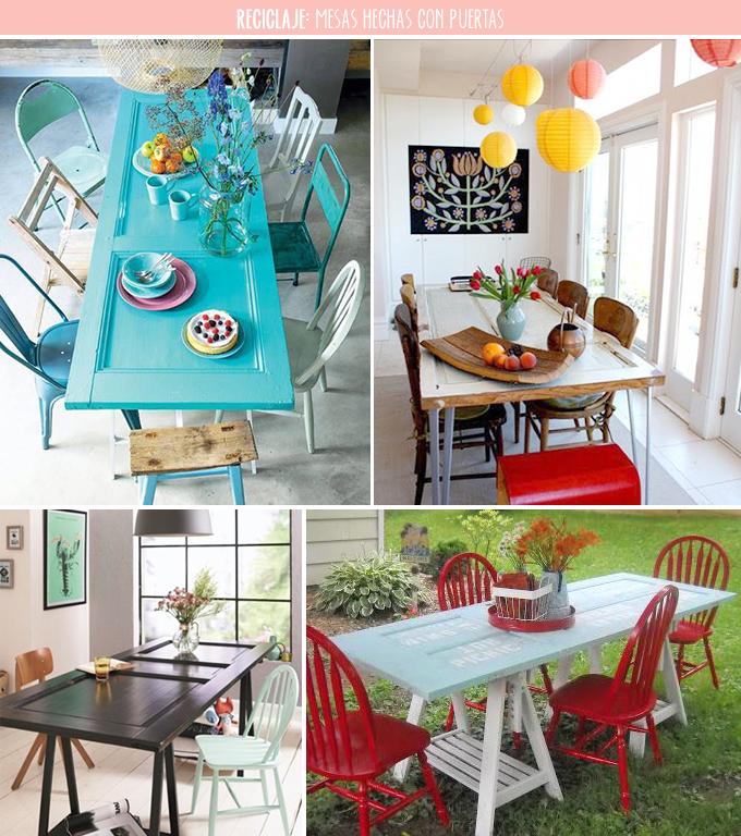 Mesas hechas con puertas viejas trendy mesas hechas con for Mesas hechas con puertas antiguas