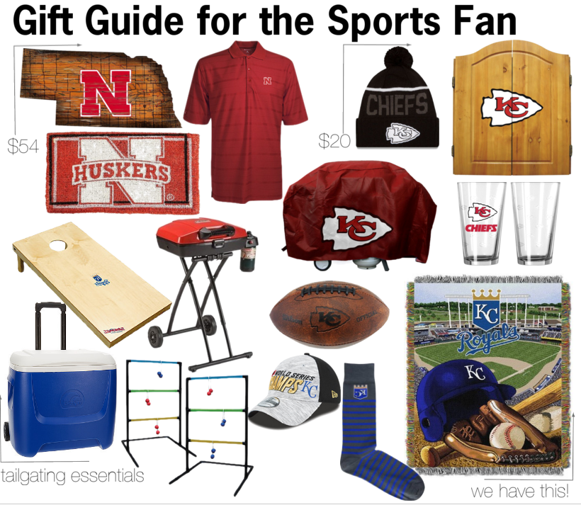 gift guide for the sports fan