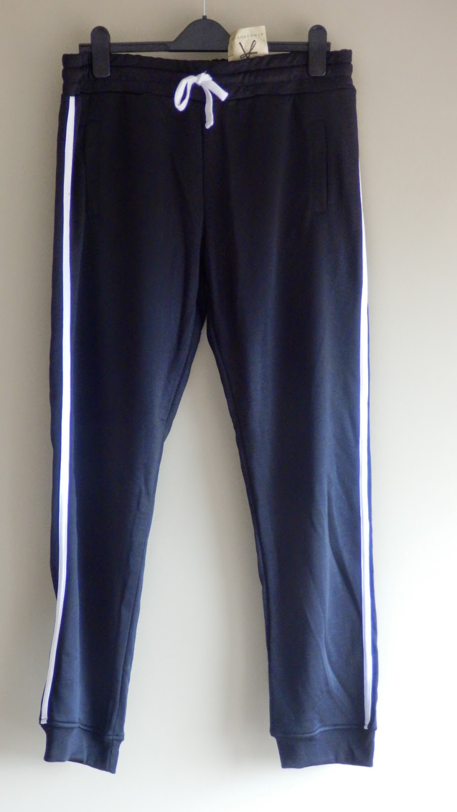 Primark Black retro jogging bottoms