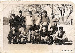 Equipo de fútbol de Candelario Salamanca de los años 60