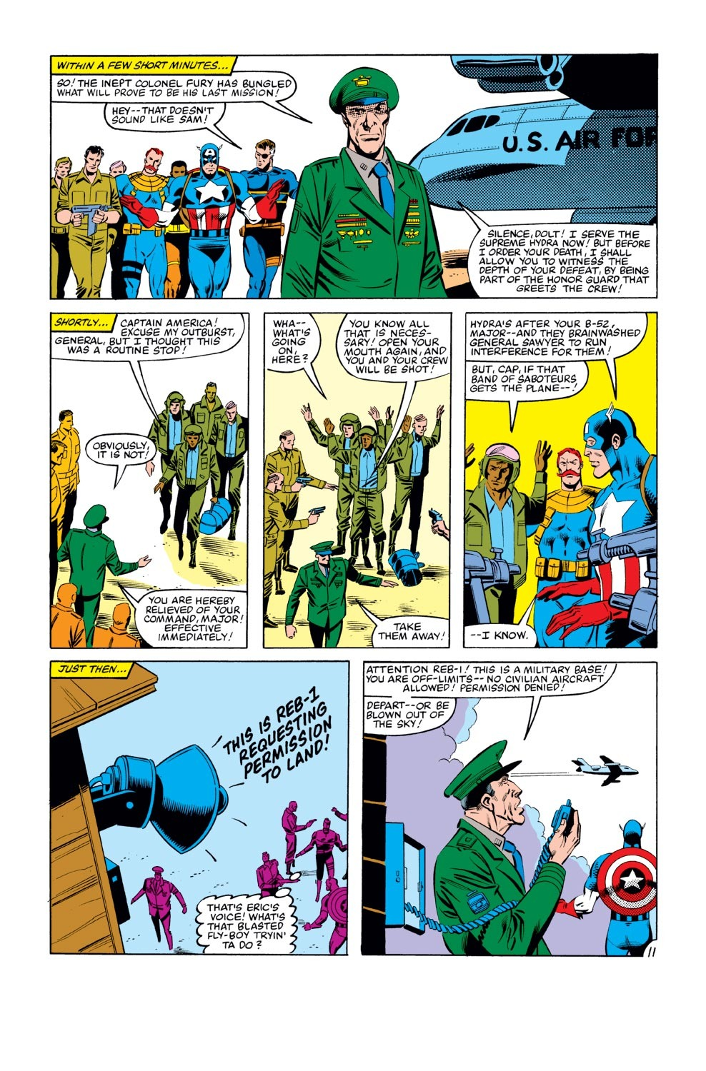 Captain America (1968) Issue #273 #189 - English 12