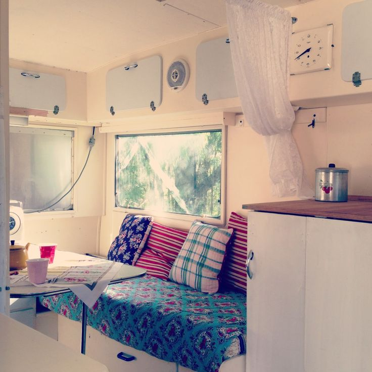 Be a happy camper ideas para decorar una caravana - Ideas para decorar una pared ...