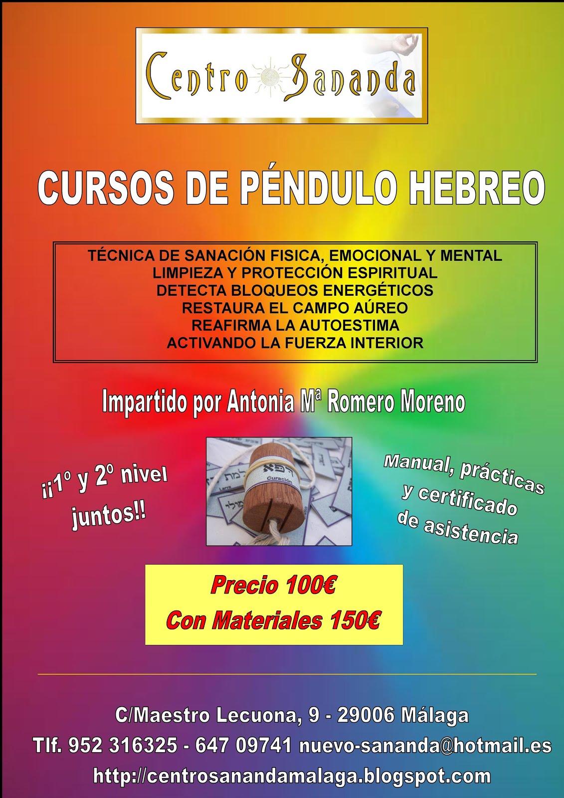 CURSOS PÉNDULO HEBREO