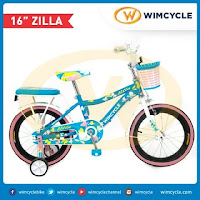 16 Wimcycle Zilla Blue