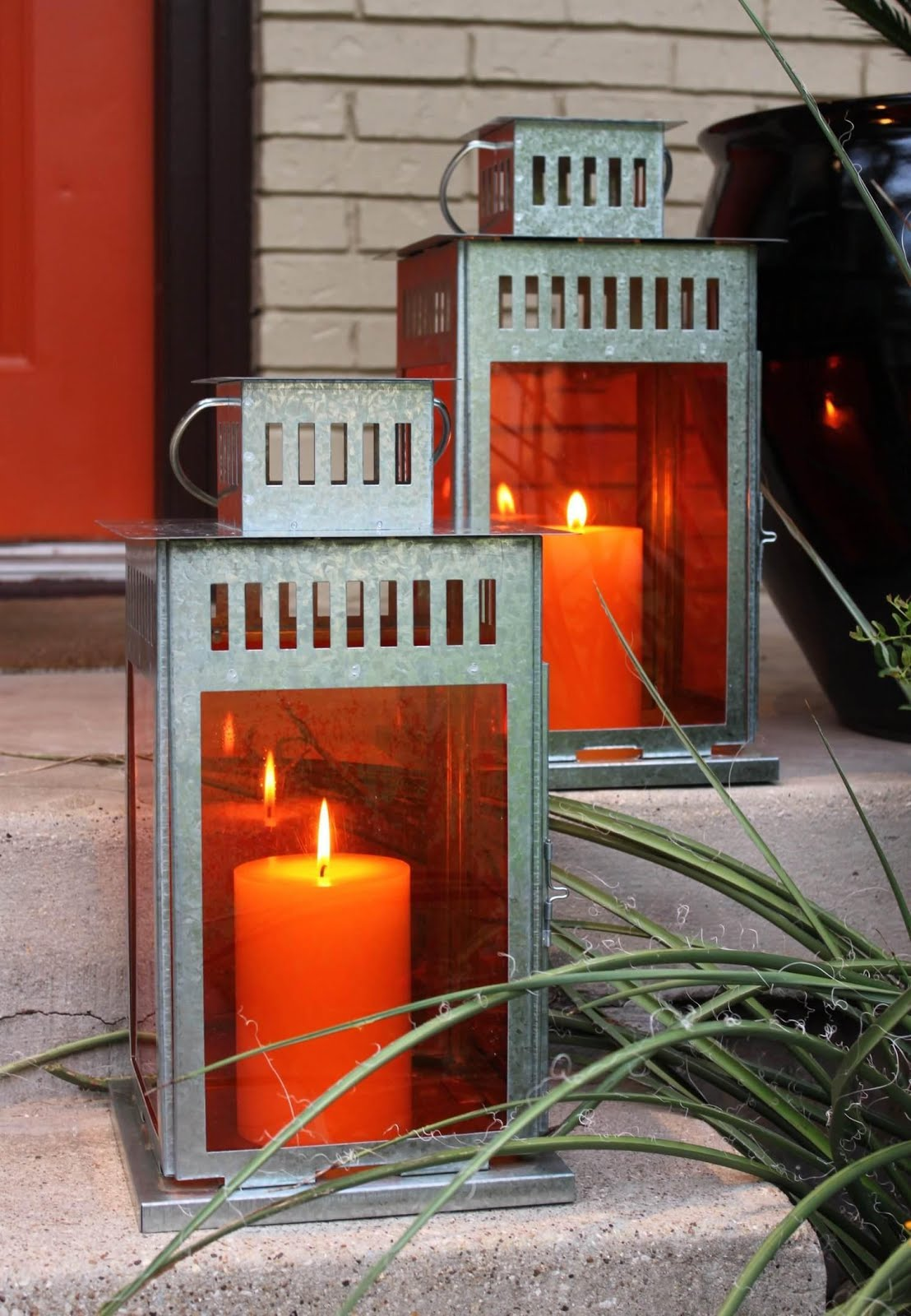 IKEA Hackers: Colored Ikea Borrby Lanterns