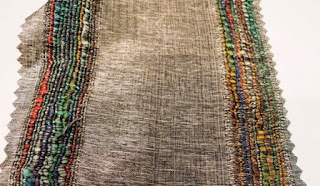 silk fabric, hand weaving, Wesco Fabrics