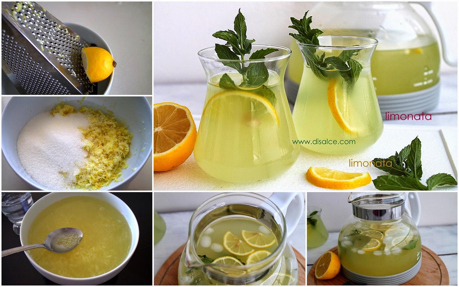 pratik ev usulü limonata