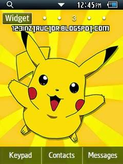 Pikachu Pokemon Corby 2 Theme Wallpaper