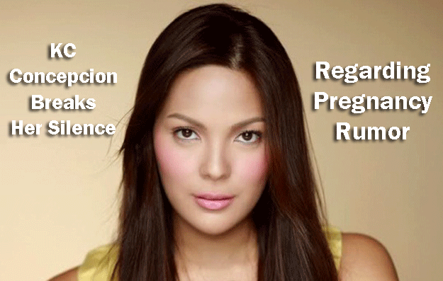 KC Concepcion Finally Breaks Her Silence Regarding Pregnancy Rumor