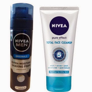 Buy Nivea Men Extra Moisture Shaving Foam 200Ml Rs. 199, Nivea Extra Whitening Cell Repair & UV Protect SPF15 (350ml) + Nivea Essential Lip-Free Rs. 277 Only