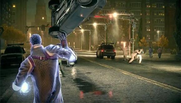 Vida de Meme Games: Jogador poderá usar telecinese para lançar veículos e objetos contra os adversários (Foto: Divulgação)