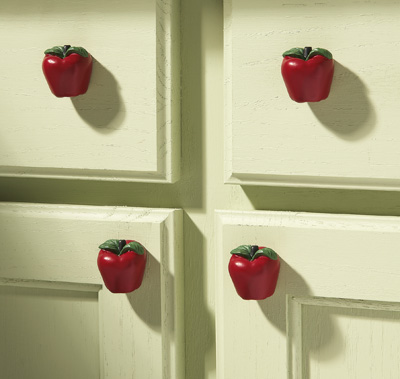Iphone apple kitchen decor for Apple decoration ideas
