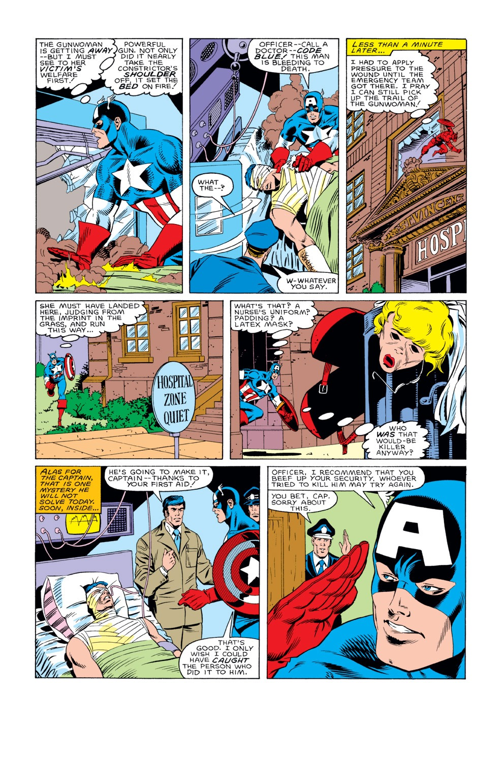 Captain America (1968) Issue #311 #239 - English 5