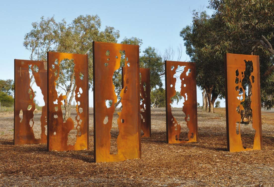 Lump Sculpture Studio Specialising In Corten Steel Corten Steel Makes Percent For Art Scheme