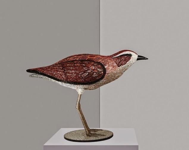 mosaic bird sculptures dusciana bravura-10