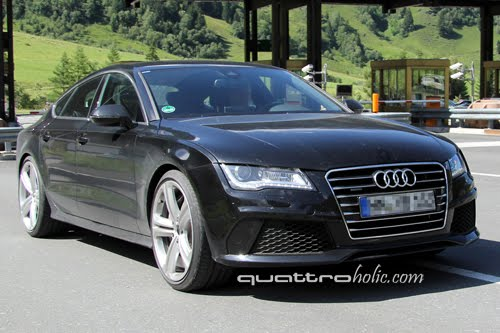 Audi Rs7 2011 >> Spied Audi Rs7 Caught Testing In The Austrian Alps Quattroholic Com