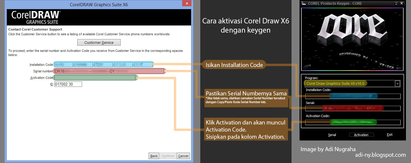 corel draw x6 com keygen