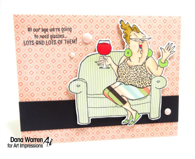 Dana Warren - Kraft Paper Stamps- Art Impressions