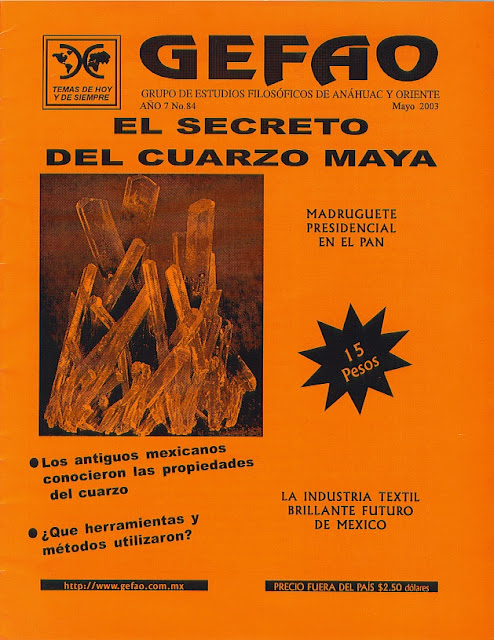 EL MISTERIO DEL CUARZO MAYA, CRANEOS DE CRISTAL