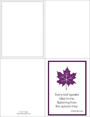 Free Autumn Printables