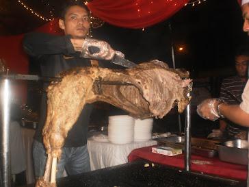 BBQ bagi seekor kambing
