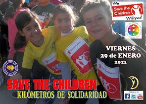 "CARRERA SOLIDARIA ""SAVE THE CHILDREN"""