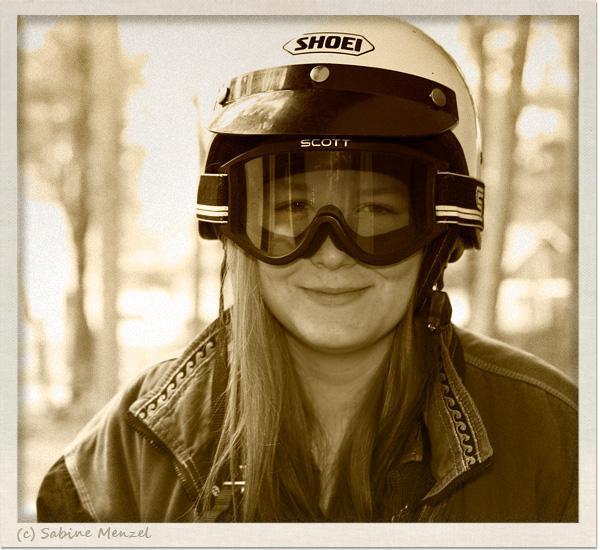 Psynopsis Shoei Vintage Motorcycle Helmet