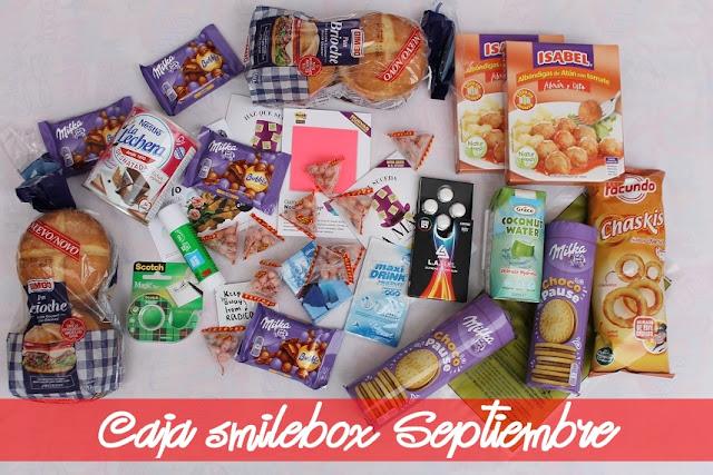 Caja smilebox Oro, con el doble de productos