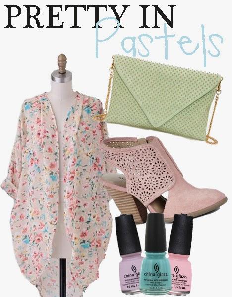 spring pastel