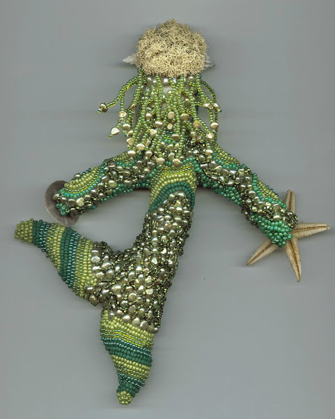 Woman of the Sea doll, back