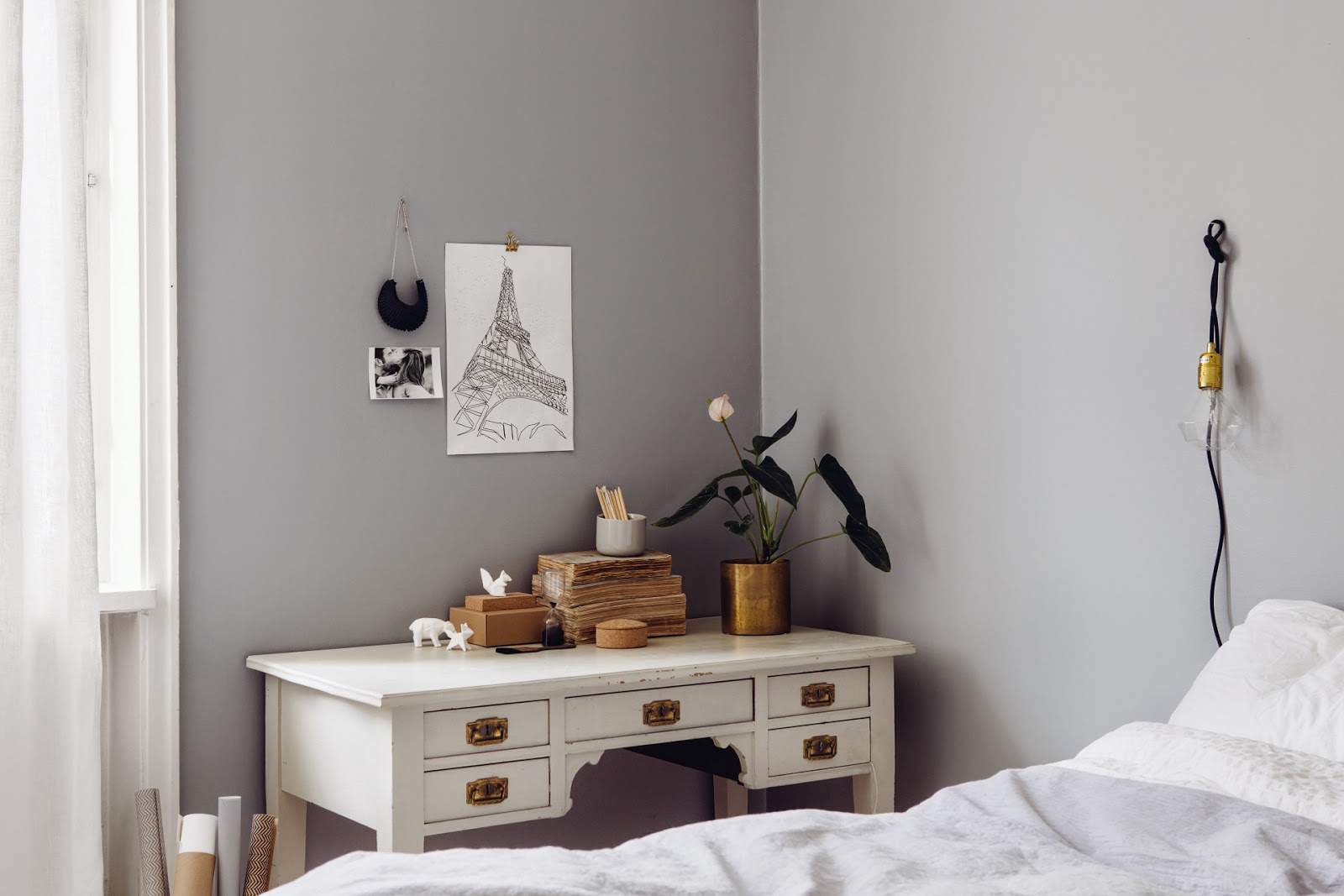 A Love For Grey blog, Scandinavian Interior Design, Scandinavian Bedroom