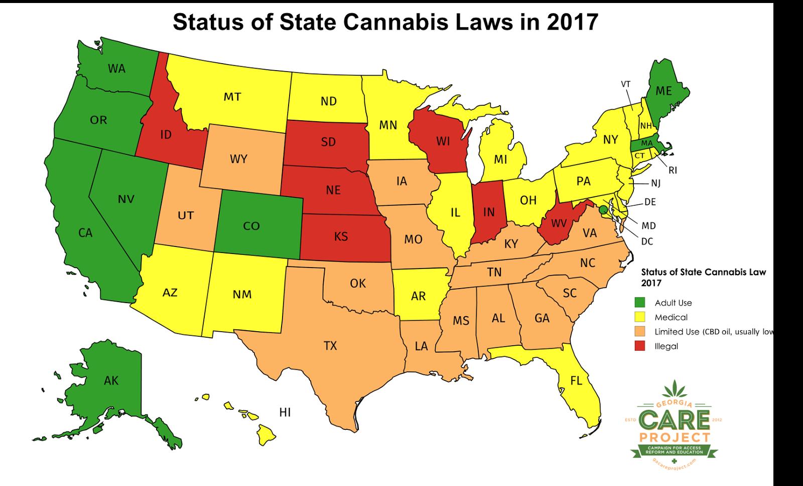 2018 | US States Legal Status