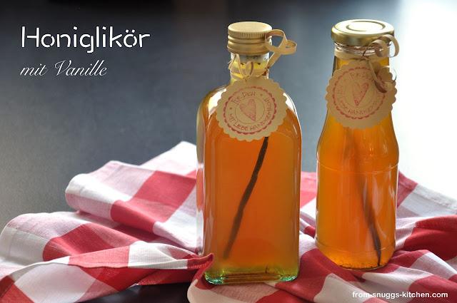 Honiglikör mit Vanille