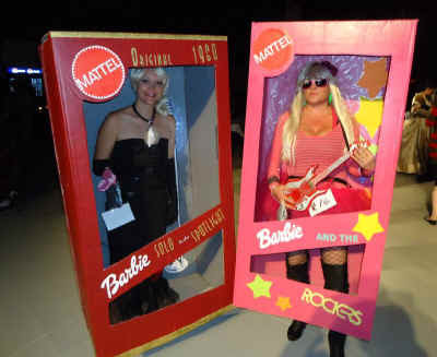 Barbie costumes 1.   & Better Budgeting: Homemade Halloween Costumes for Adults: Barbies in ...