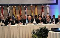 La Presidenta ya está en Mendoza para participar de la cumbre del Mercosur