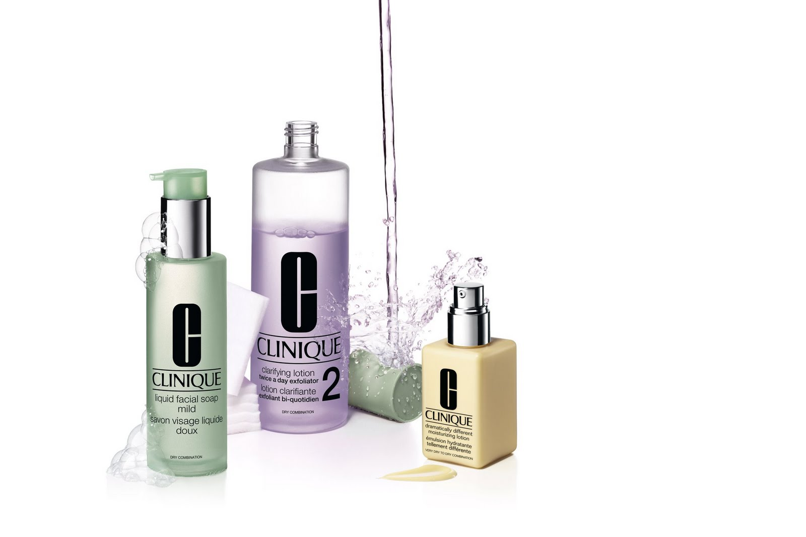 product analysis clinique 3 step system » clinique 3 step cleaning  could not quite remember what she had and they said it must have been this as this is the product system that gives the most dramatic .