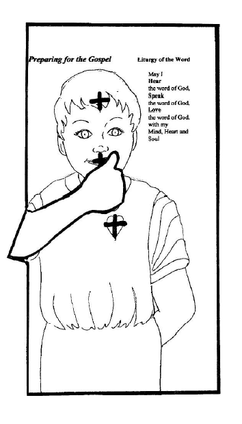 Lesson 11: Preparing for the Gospel- Children Discover the Mass by ...