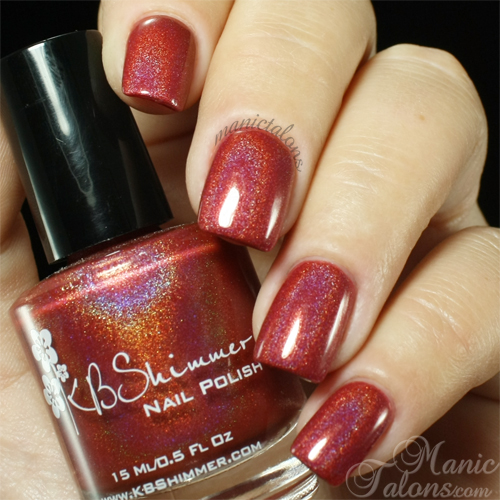 KBShimmer Men Are From Mars-ala Swatch