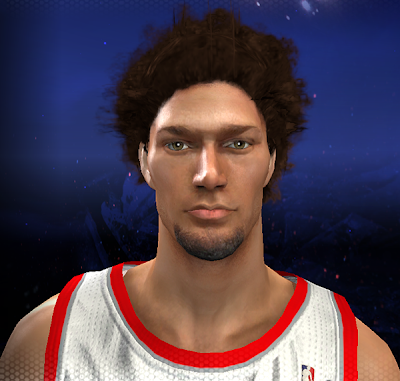 NBA 2K14 Robin Lopez Cyberface Mod