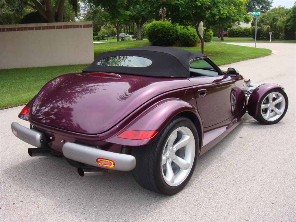 Car Style Critic Production Hot Rod Plymouth Prowler
