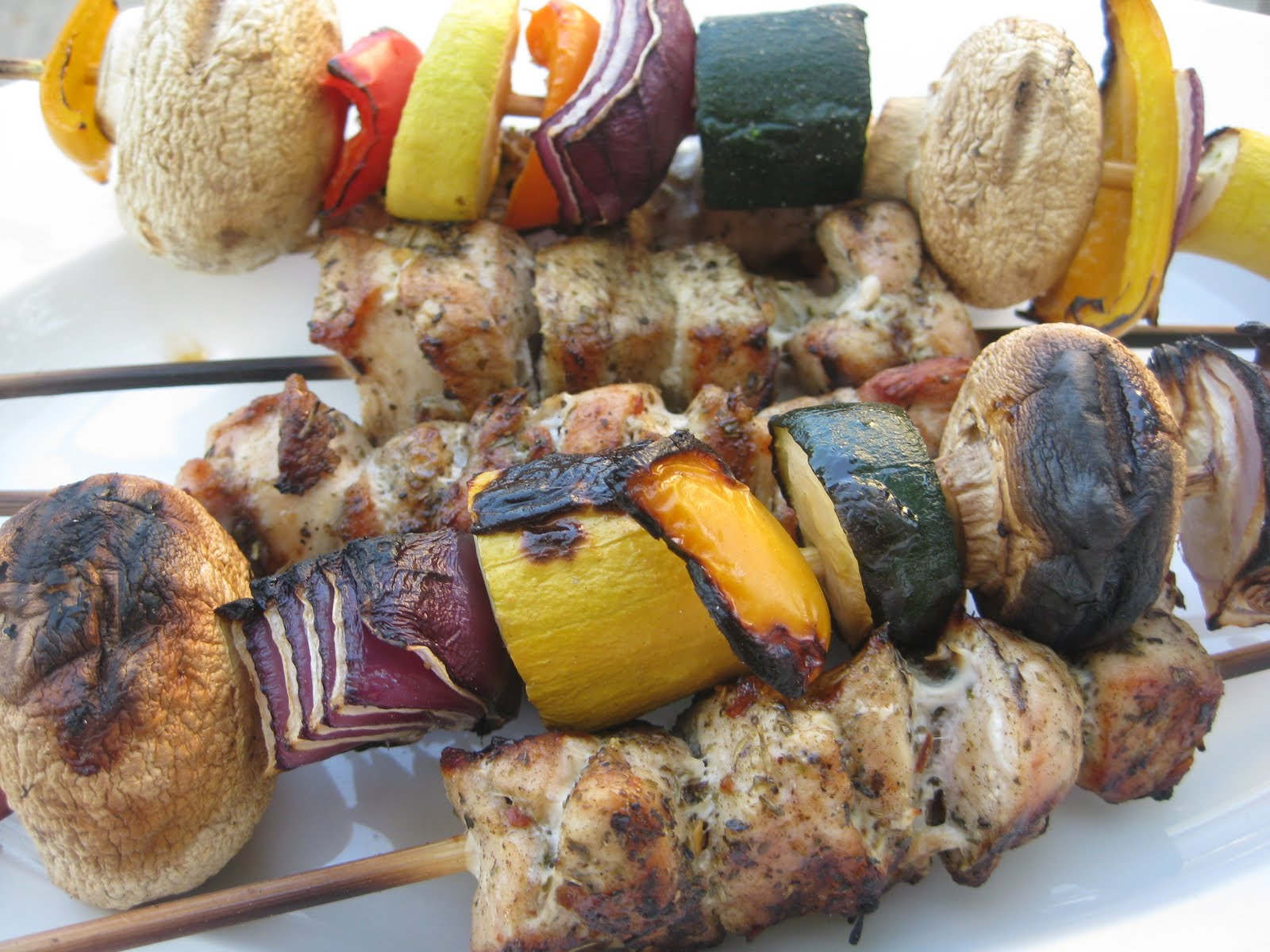 Heidi's Recipes: Grilled Chicken Kabobs Recipe
