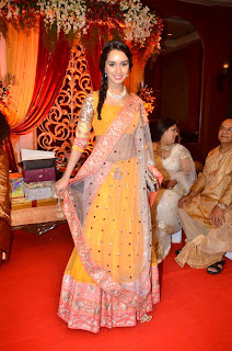 Shradha Kapoorn at Bappa Lahiri & Taneesha Verma Marriage Reception